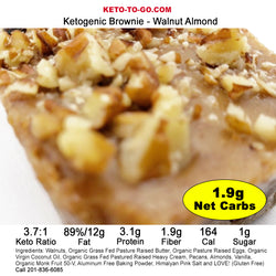 Walnut Almond Keto Brownies  6-Pak
