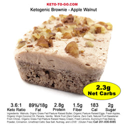 Apple Cake Keto Brownie - 4 Pak