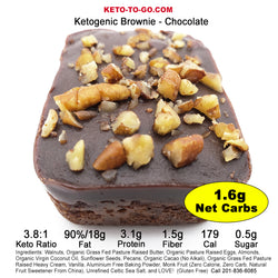 Keto Brownies Mixed Flavor Sampler 4-Pak