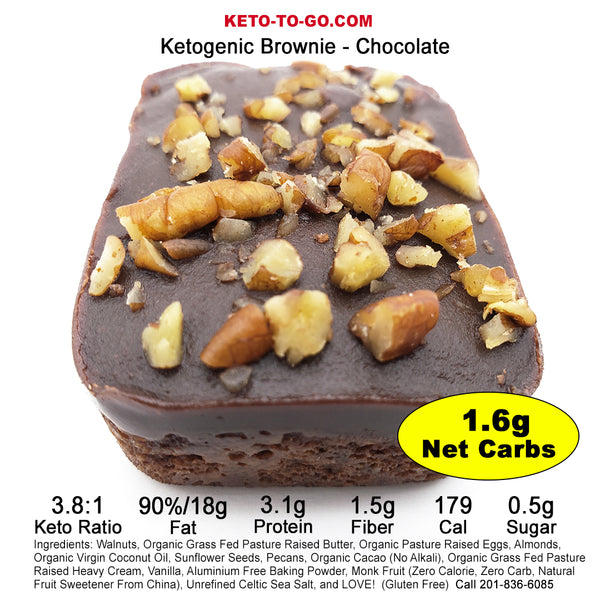 Keto Brownies Mixed Flavor Sampler 6-Pak