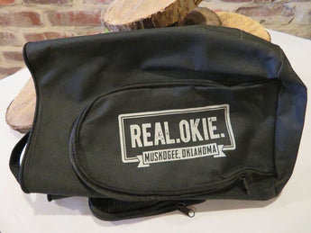 Real Okie Golf Shoe Bag