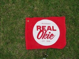 Real Okie Golf Towel