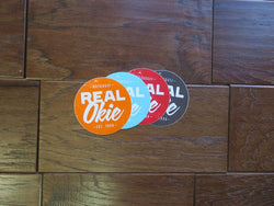 Real Okie Sticker 4 Pack