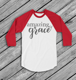 Amazing Grace Raglan