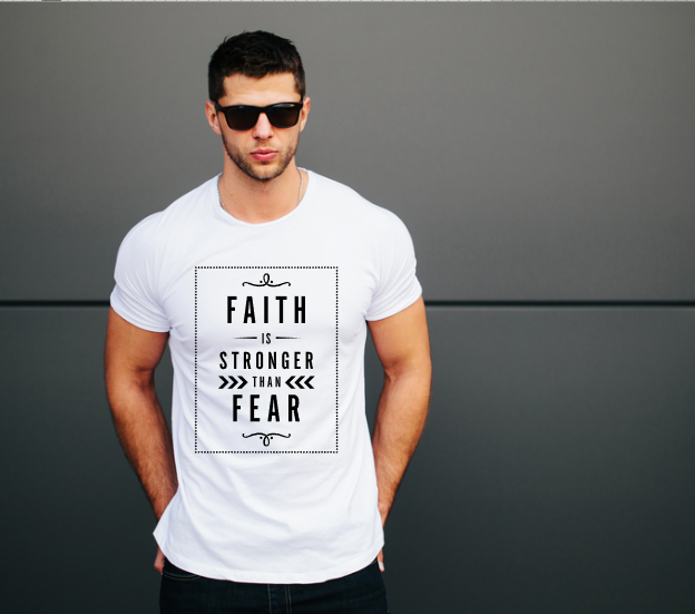 Faith is Stronger than Fear Unisex Tee