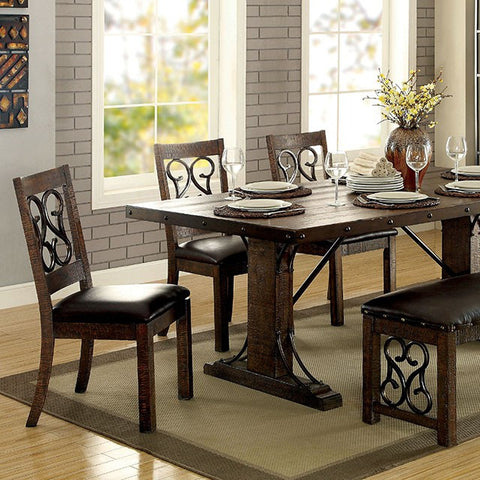 PAULINA  DINING TABLE    |    CM3465T