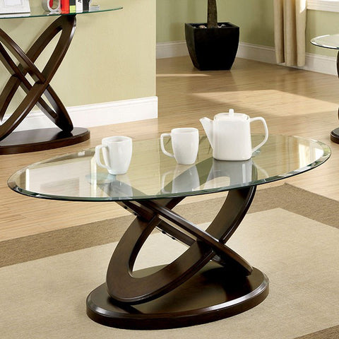 ATWOOD II  OVAL COFFEE TABLE    |    CM4401C