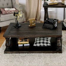 KEIRA  COFFEE TABLE W/ WOOD TOP    |    CM4455C