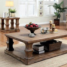 GRANARD  COFFEE TABLE W/ WOODEN TOP    |    CM4457C