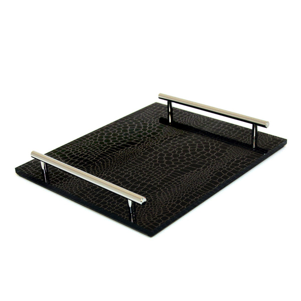 Black Croc-TKB101 Tray