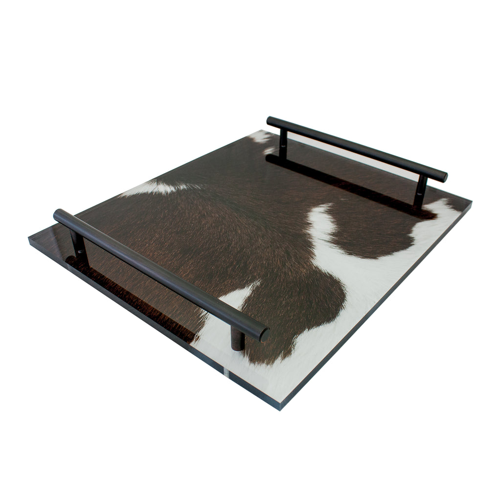 Cowhide Tray-W