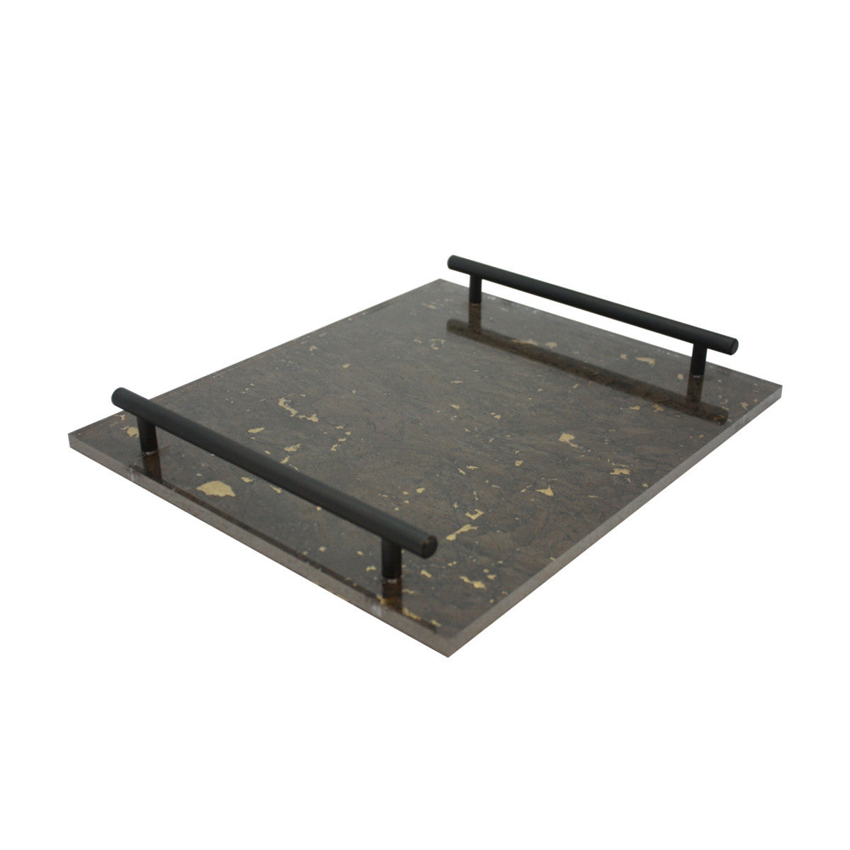 Chocolate/Gold Leaf-TKB300 Tray