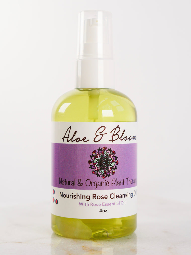Nourishing Rose Cleansing Oil