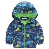 Dinosaur Graphic Coat