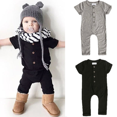 Baby Black Jumpsuit