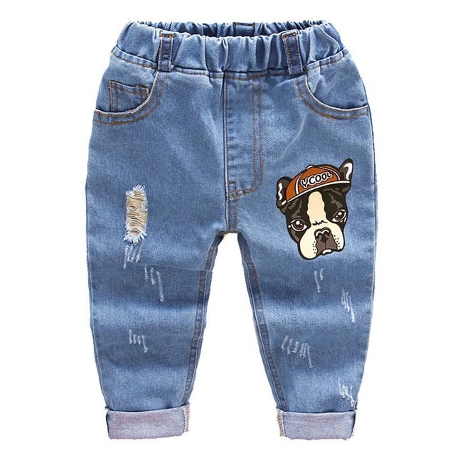 Casual child pants