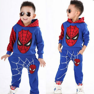 Hooded Spiderman Collection