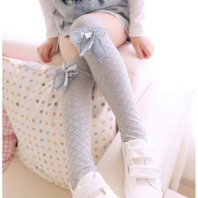 Butterfly Long Tube Baby Socks
