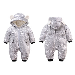 Cold-proof warm Baby Romper