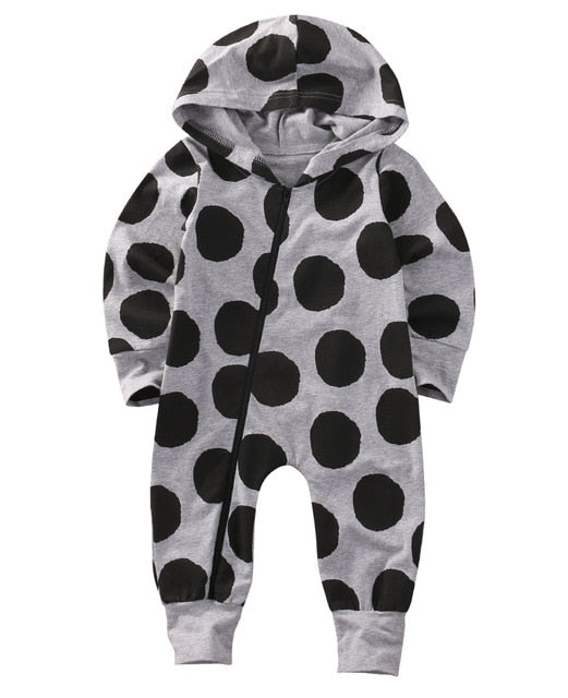 Dotted Baby Romper