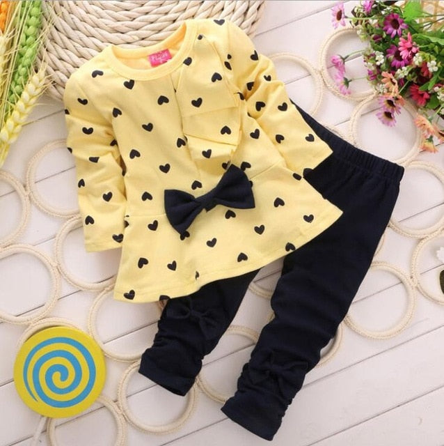 Newborn Baby Autumn Clothing Set