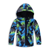 Hooded Pattern Jacket