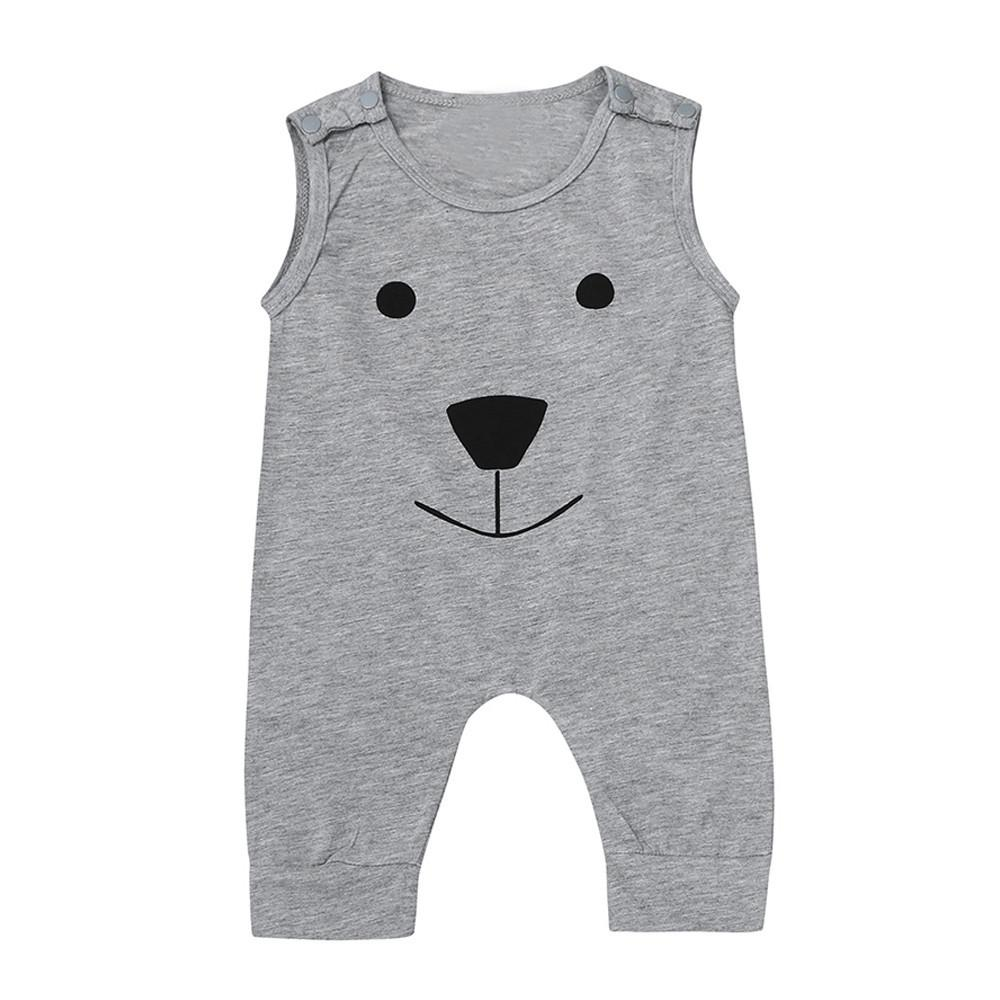 Gray Smily Bear