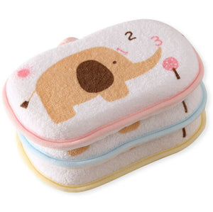Newborn Baby Bath Brushes Cotton