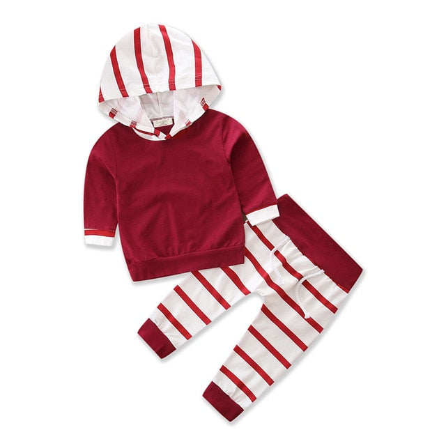 Hooded Baby Set