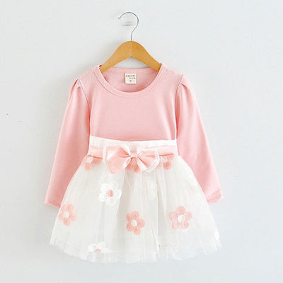 Long Sleeve Baby Girls Dress