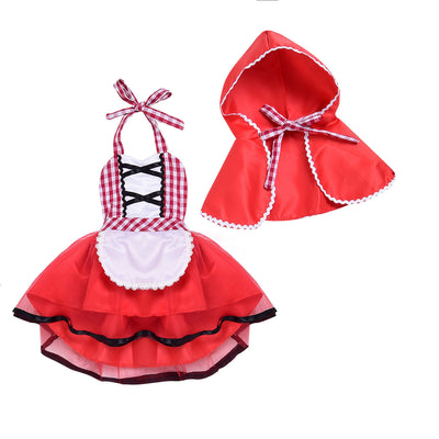 Baby Girl Red Riding Hood Costume