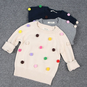 Fluffy Dots Pullover