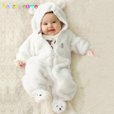 Broadcloth Warm Baby Romper