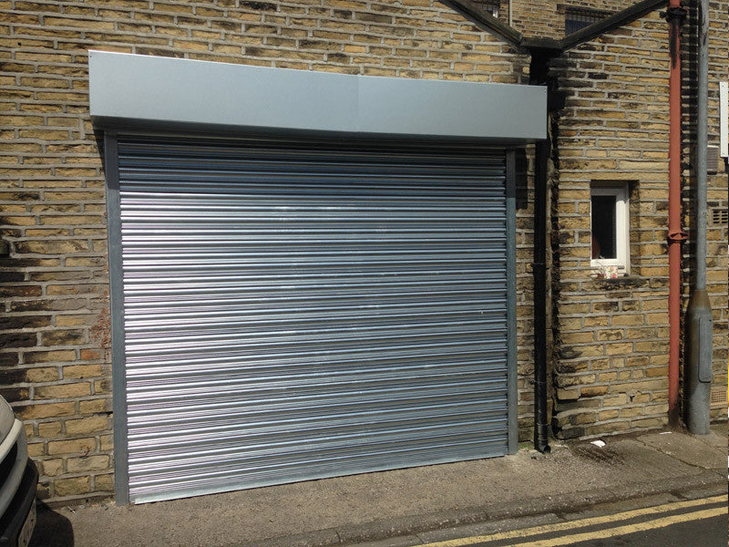 Electric High Security Roller Shutter Garage Doors All Sizes