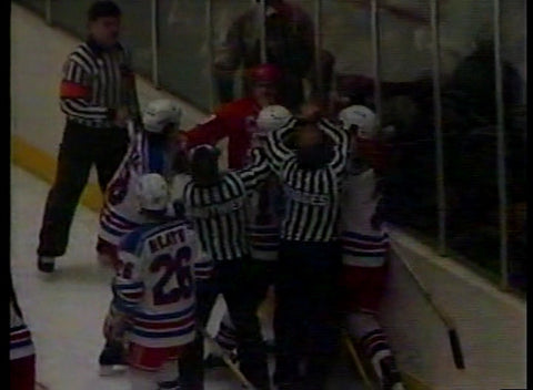 January 24, 1985 Detroit Red Wings - 1 @ New York Rangers - 3 John Vanbiesbrouck Steve Yzerman