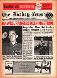 December 24, 1966 The Hockey News Volume 20 No. 11 Roger Crozier Emile Francis Terry Sawchuk