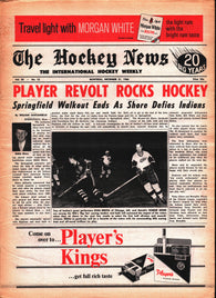 December 31, 1966 The Hockey News Volume 20 No. 12 Gordie Howe Stan Mikita Eddie Shore Pit Martin