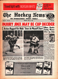 April 15, 1967 The Hockey News Volume 20 No. 27 Harry Howell Phil Goyette John Ferguson