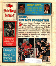 August 9, 1985 The Hockey News Vol. 38 No. 36 Dale Hawerchuk Steve Shutt Brad Park Complete 1984-85 Stats