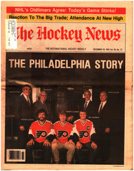 December 18, 1981 The Hockey News Volume 35 No. 12 Philadelphia Flyers Bobby Clark Mark Messier