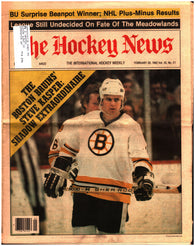 February 26, 1982 The Hockey News Volume 35 No. 21 Issue Mark Messier Brad Park Rod Langway