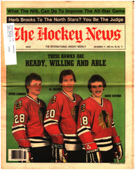 December 17, 1982 The Hockey News Volume 36 No. 11 Chicago BlackHawks Denis Savard Herb Brooks
