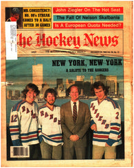 December 24, 1982 The Hockey News Volume 36 No. 12 New York Rangers Wayne Gretzky Marcel Dionne