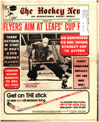 April 23, 1976 The Hockey News Issue Volume 29 No. 28 French Connection Marc Tardif Wayne Stephenson