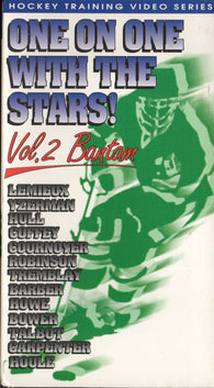One on One with the Stars VHS Tape Volume 2 Mark Howe Steve Yzerman Paul Coffey Mario Lemieux