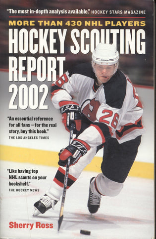 2002 NHL Hockey Complete Scouting Reports on Over 430 Players Patrick Elias Pavel Bure