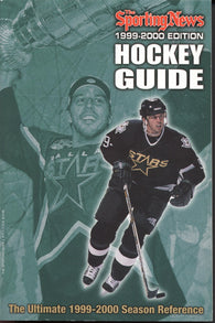 1999-00 NHL Sporting News Hockey Guide Mike Modano NHL Minors Juniors College Stats