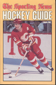 1989-90 NHL Sporting News Hockey Guide Book Al MacInnis Calgary Flames Mario Lemieux