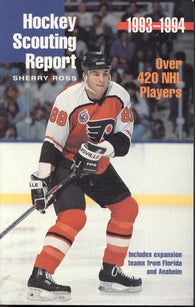 1993-94 NHL Hockey Complete Scouting Reports on Over 420 Players Eric Lindros Chris Chelios