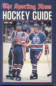 1985-86 NHL Sporting News Hockey Guide Book Wayne Gretzky Edmonton Oilers Paul Coffey Jari Kurri